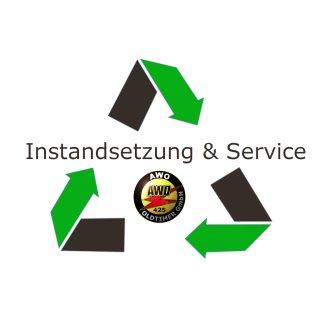 Service Tank - Sandstrahlen (bis 16L Inhaltsvolumen)