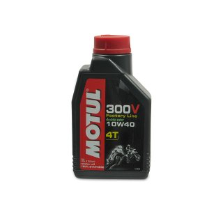 Getriebeöl MOTUL (SAE 10W-40) Factory Line 300V 4T (1,00 Liter)