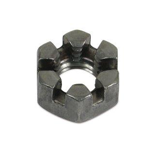 Kronenmutter / flache Kronenmutter (10x1,5mm) DIN 937