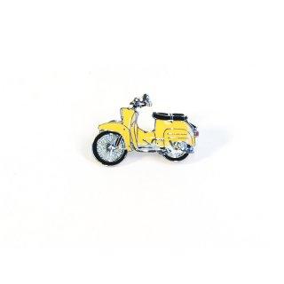 Anstecknadel / Emblem / Pin Moped KR 51 gelb