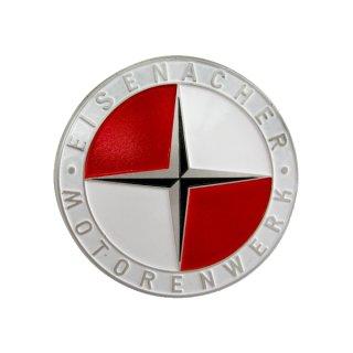 EMW Emblem (D=50mm) rot/weiss (Rahmen, Radkappe) EMW R35/2, R35/3
