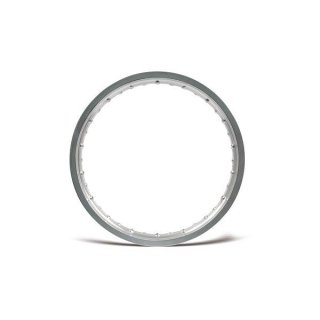 Felge Vollnabe (2,15 x 19) Aluminium eloxiert (glänzend)