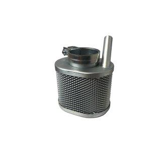 Luftfilter Vergaser oval mit Entlüftung verzinkt EMW R35/3